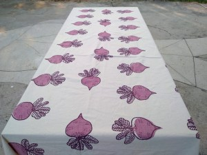Table Cover – Beet Pattern