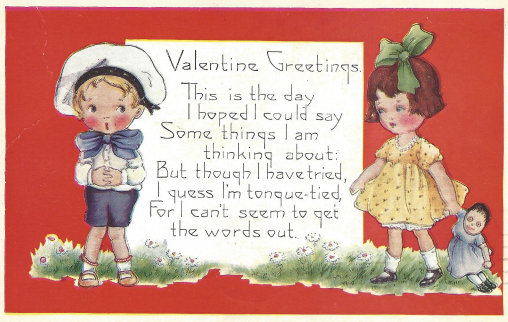 Valentine Postcard 1 A