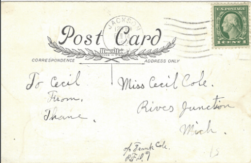 Valentine Postcard 1 B