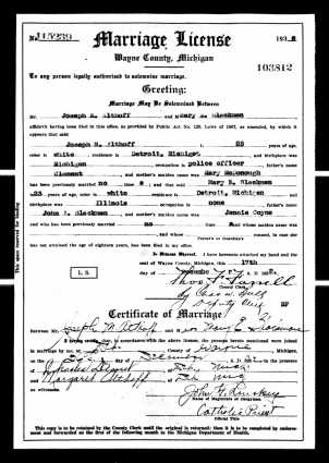 Althoff & Blackman Marriage Certificate (1)