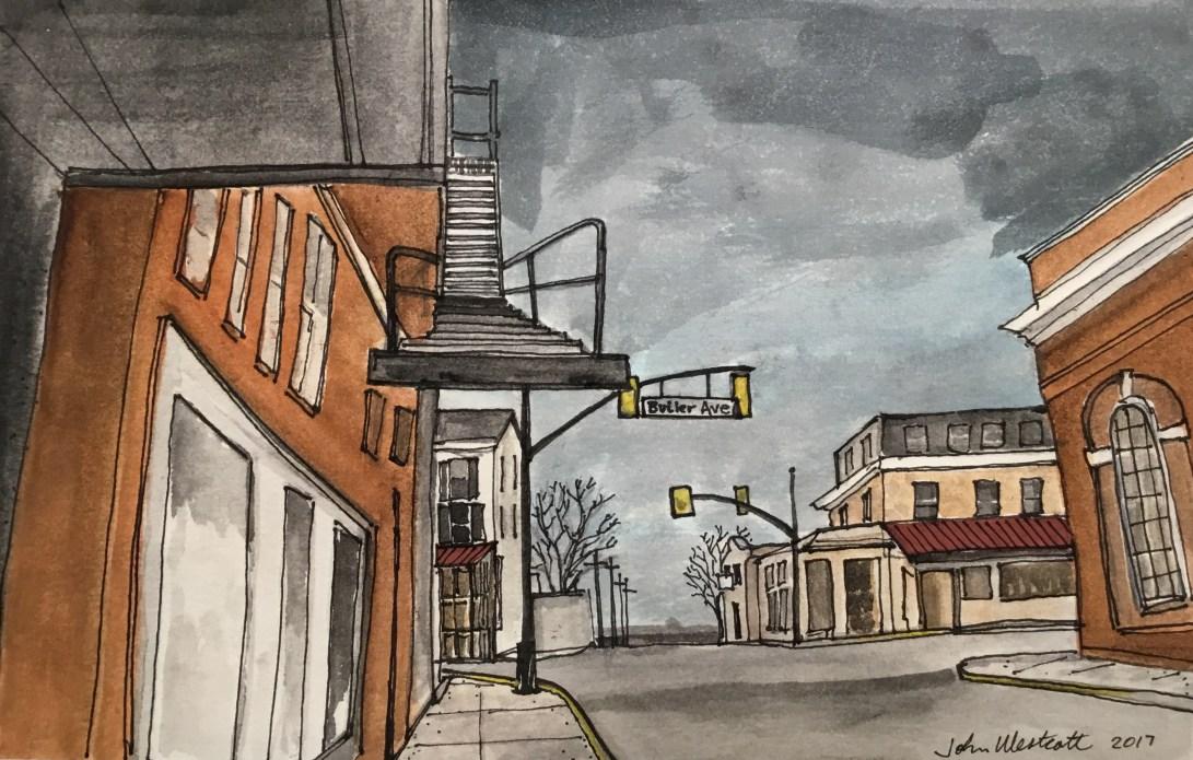 Main Street Near Butler Ave
