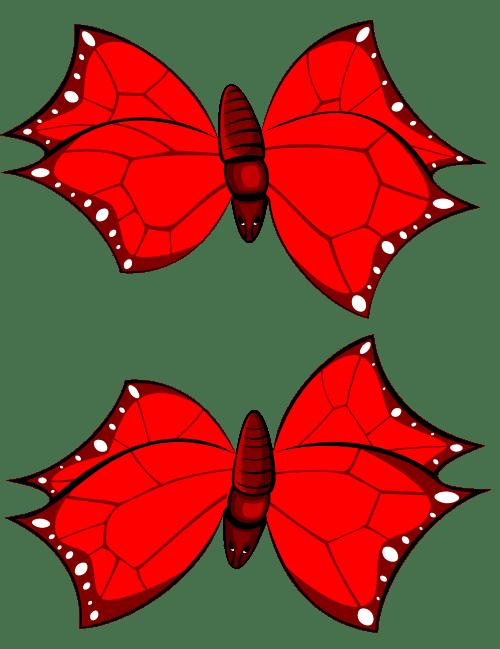 draak butterfly tiles