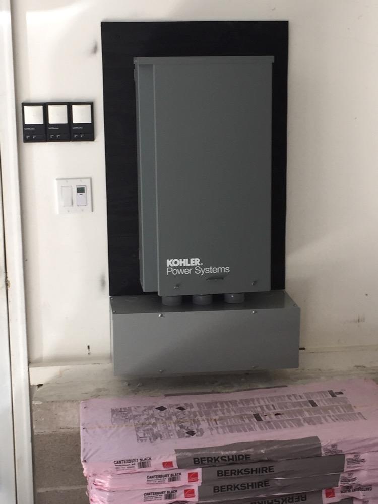 Kohler Transfer Switch Panel for Residential Generator