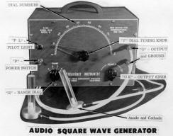 Analog Frequency Generator