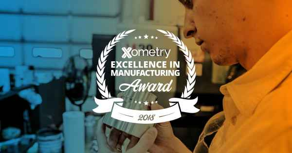 JW Machine Wins Xometry Excellence In Manufacturing Award
