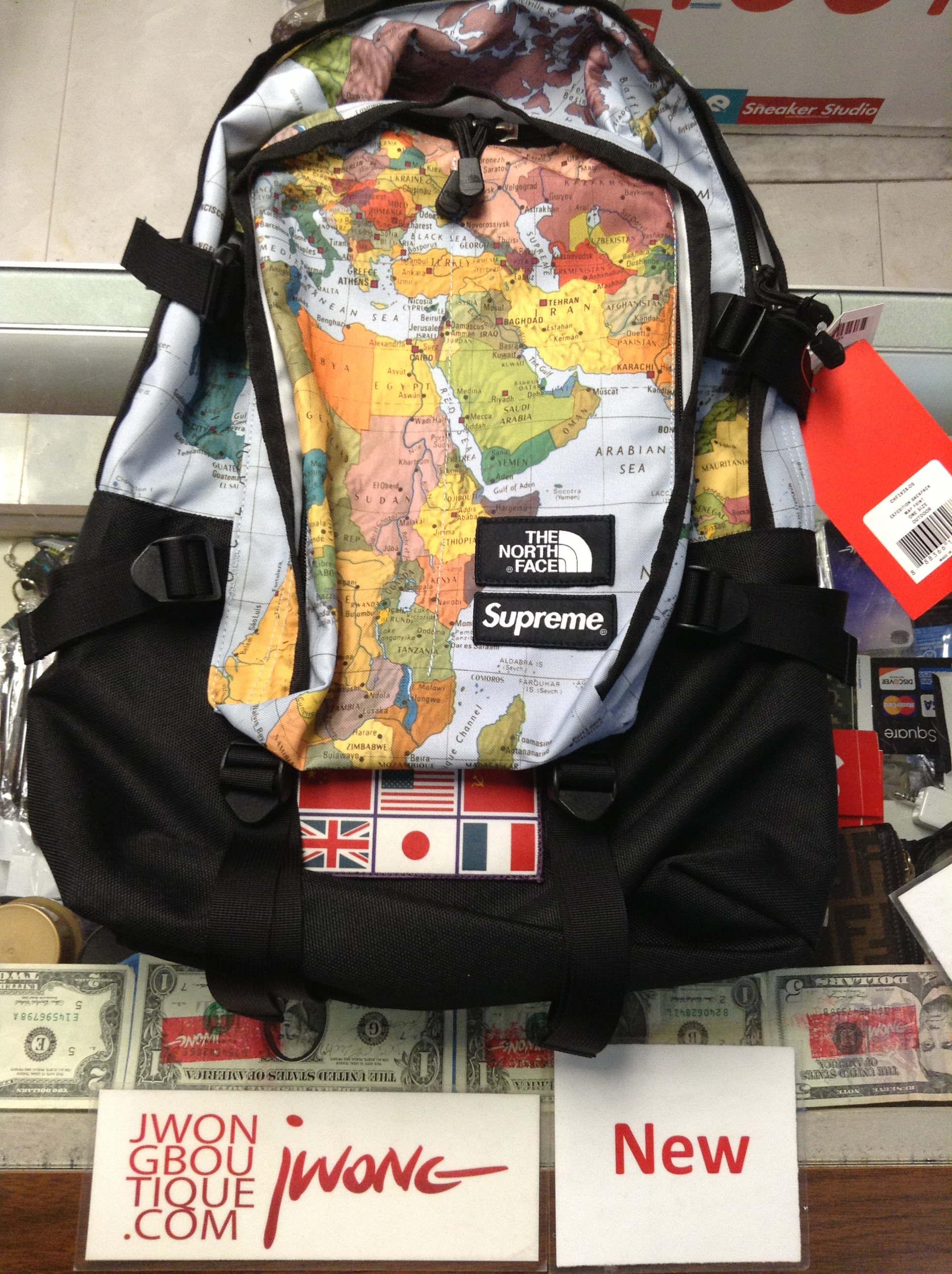 45d9e9a5b5fe 2014 Supreme The North Face Expedition Backpack World