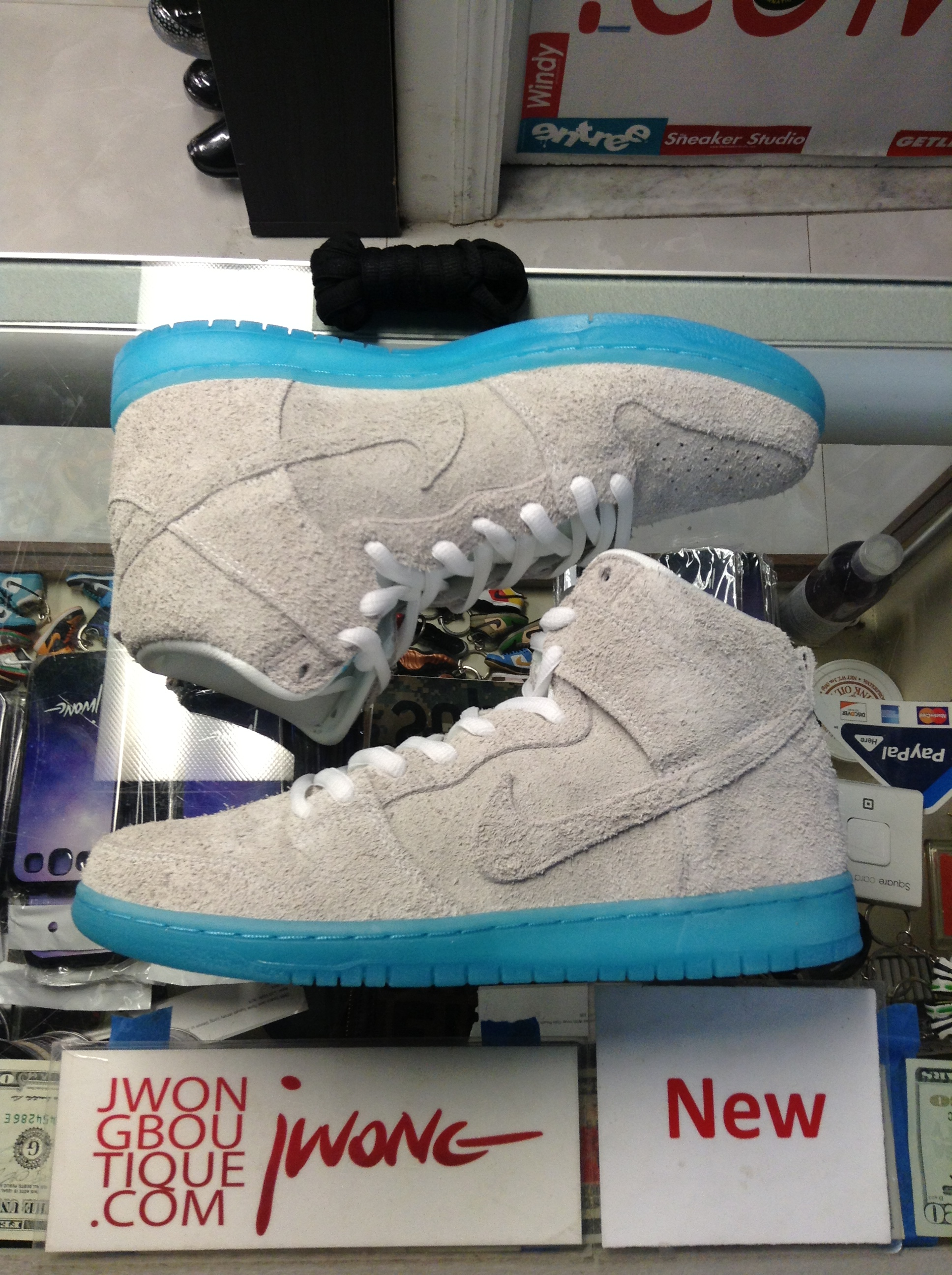 buy popular 228eb 1dd51 2014 Nike Dunk High Premium SB Chairman Bao