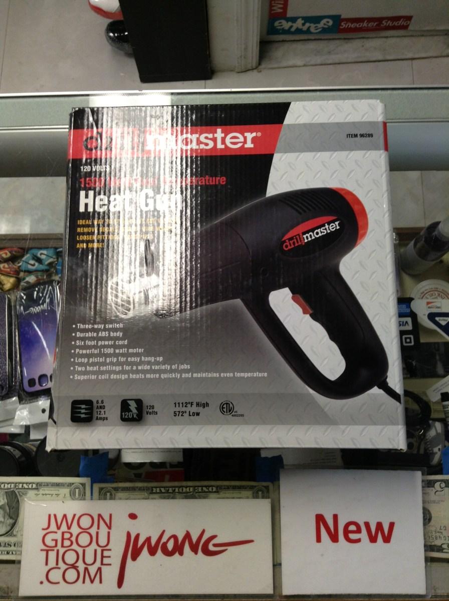 Drill Master 1500 Watt Dual Temperature Heat Gun 96289