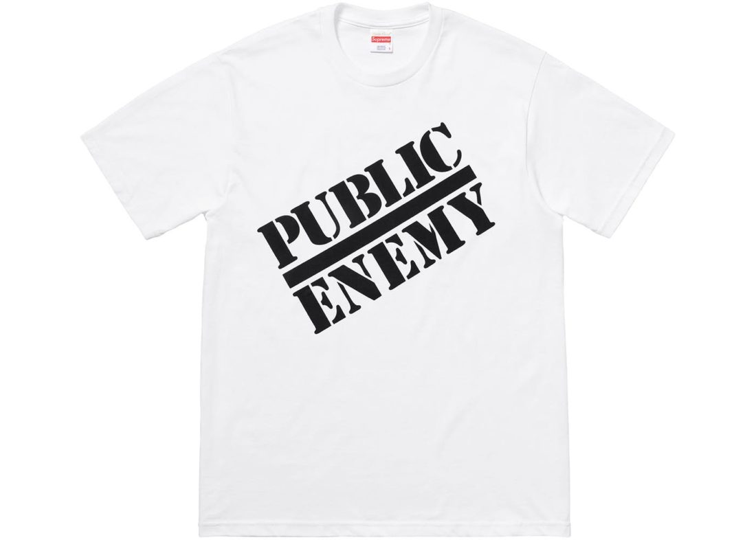 2018 Supreme Undercover Public Enemy Blow Your Mind Tee