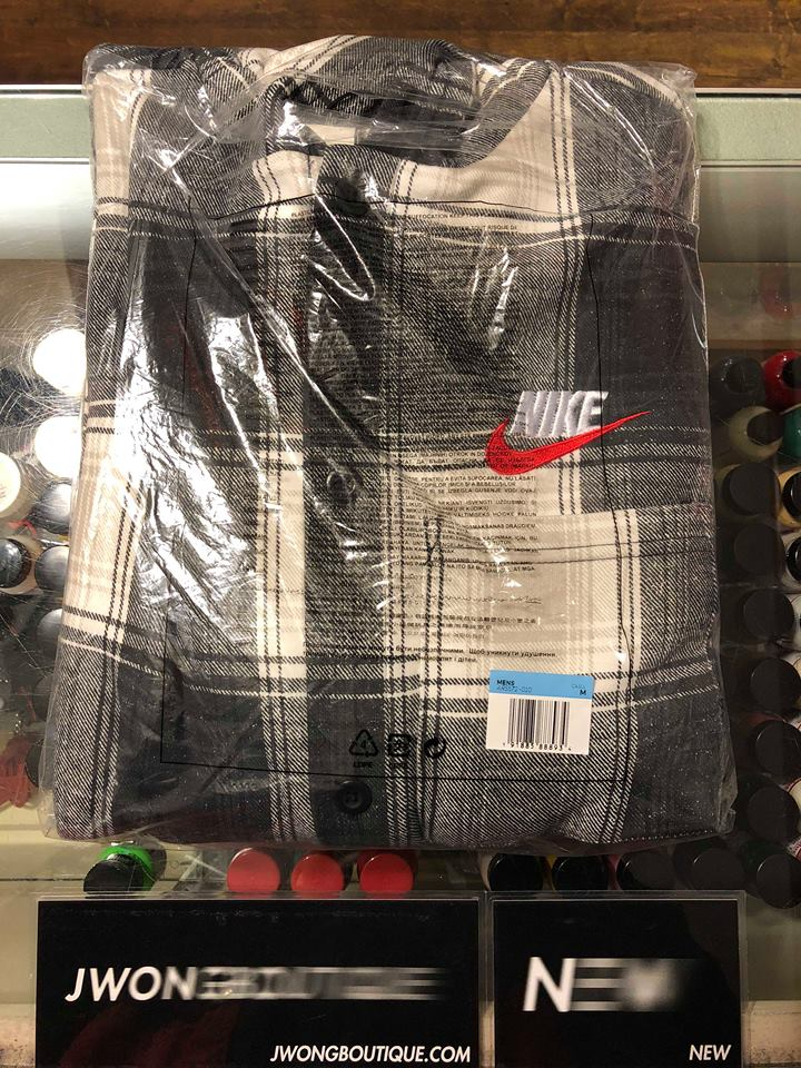 clients first delicate colors special discount of 2018 Supreme Nike Plaid Hooded Sweatshirt Black