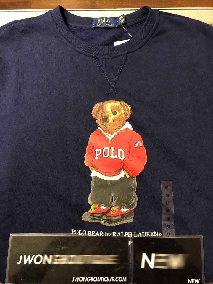 3aefca1c 2018 Ralph Lauren Polo Bear Sweatshirt Navy | Jwong Boutique
