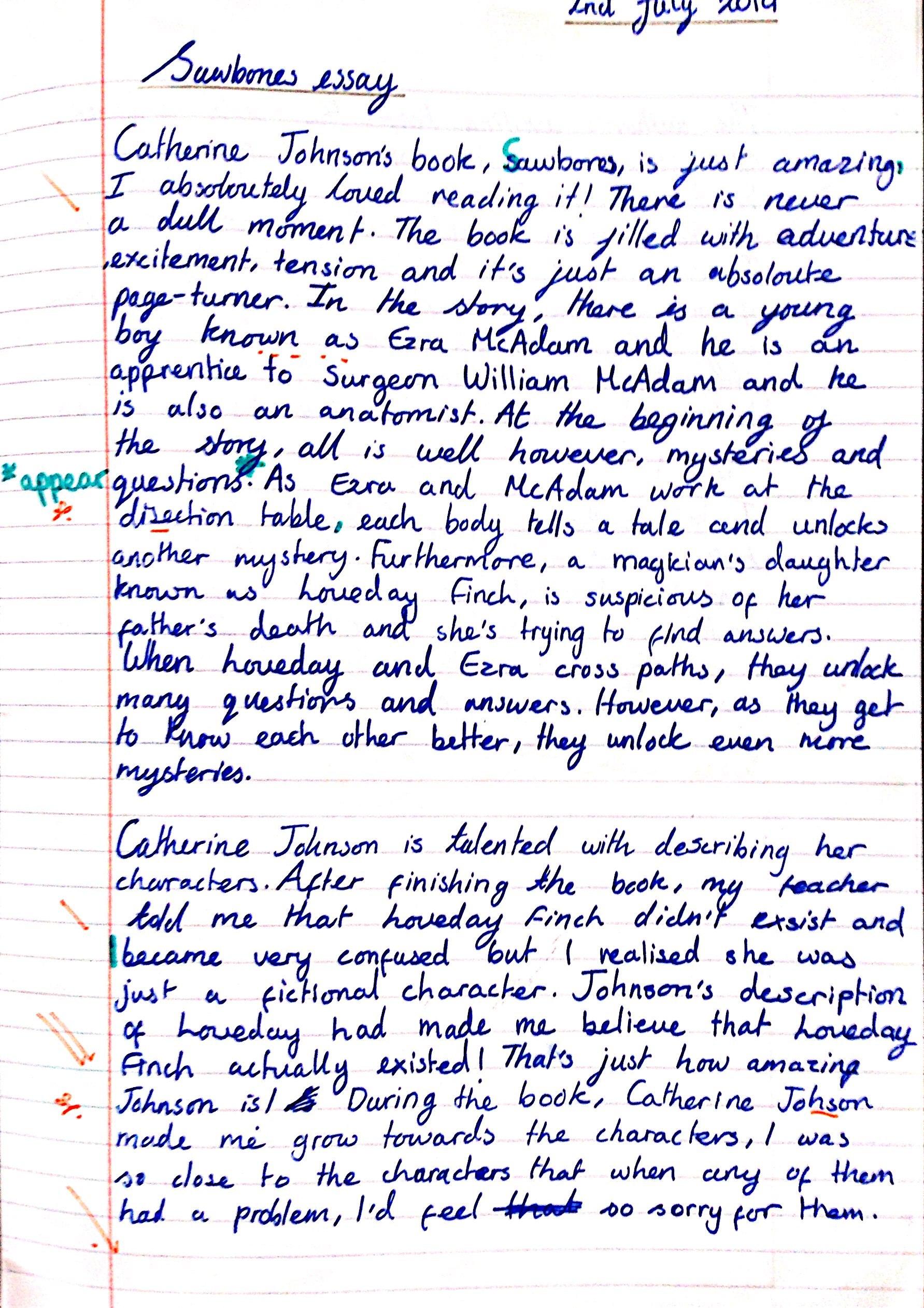 Sawbones In Year 7 English Teaching Resources