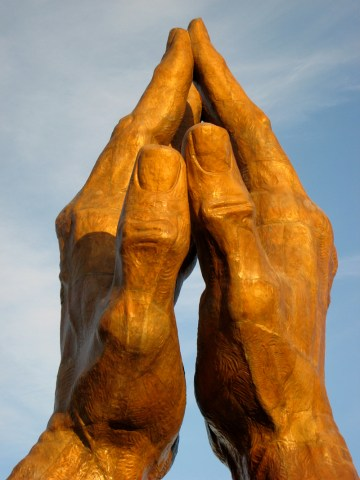 Praying Hands Oral Roberts University Tulsa, OK USA