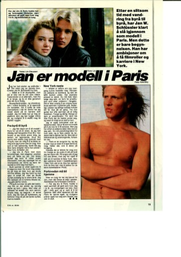 jan modell i paris