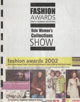 Oslo Fashion Awards 2003