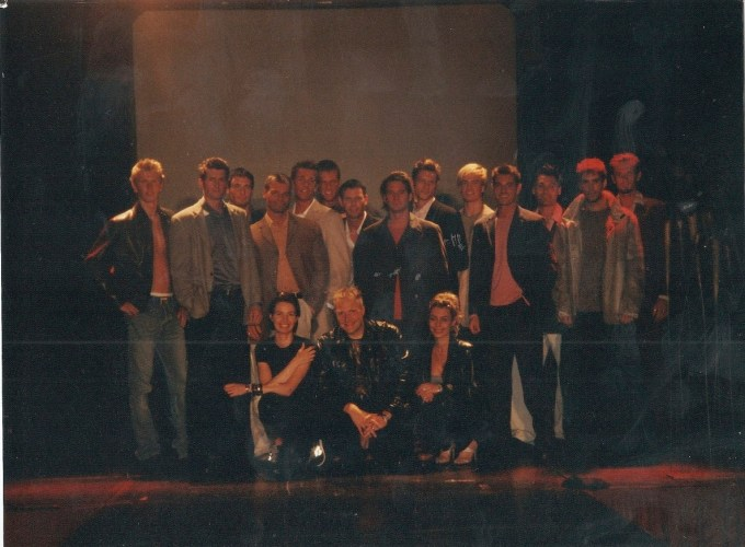 Oslo Mens Collections show 1998