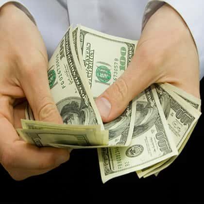 店内での現金のやり取りが違法賭博