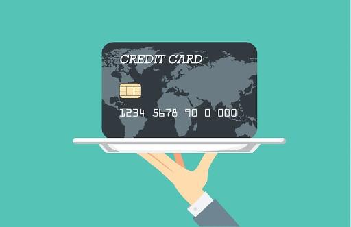 クレジットカードは3つのブランド対応