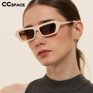 49228 Luxury Pearl Sunglasses Cat Eye Men Women Fashion Shades UV400 Vintage Glasses