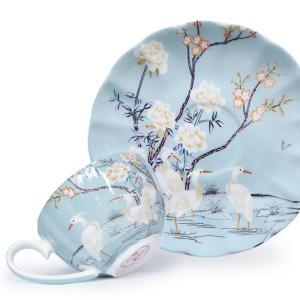 British Style Coffee Cup Set Bone china Luxury Gift Creativity Tea Cups And Coffee cups Saucer Set Beautiful Ceramic Cups