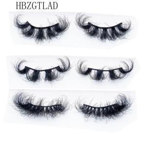 Mink Eyelashes 25mm Lashes Fluffy 3d Mink Lashes Makeup Dramatic Long Natural Eyelashes Wholesale Eyelash Extension Maquillaje