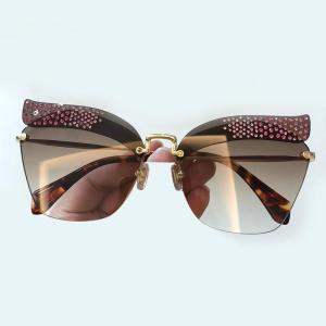 Cat Eye Sunglasss Women Brand Designer Fashion Sun Glasses High Quality Glasses Feminino Vintage Shades with Packing Box 2018