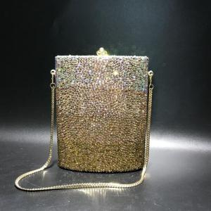 Classic Designer luxury gold crystal evening bag women evening clutch purse bags Free shipping ladies Day Clutches crossbody bag