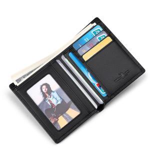 Leather Men's Wallets Thin Male Wallet Card Holder Cowskin Soft Mini Purses New Design Vintage Men Short Slim card bag
