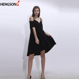 Large Size Women Dress 2021 Summer Off Shoulder Straps Dresses Short Sleeve Beach Dress Casual Loose Dresses Plus Size 5XL