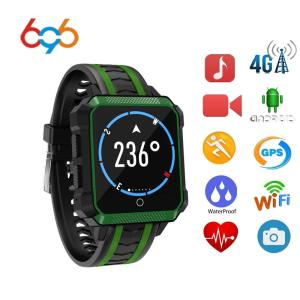 696 H7 Sports GPS Watch Android 4G LTE SIM Card Smart Watch IP68 With Camera Heart Rate Monitor Wifi bluetooth BT Smartwatch Men
