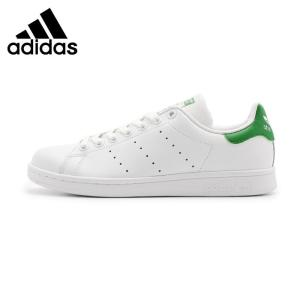 Original New Arrival  Adidas Originals STAN  SMITH  Unisex  Skateboarding Shoes Sneakers