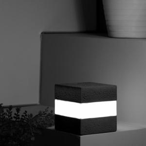 Cube Night Light Usb Rechargeable Colorful LED Bedside Lamp Cafe Bar Atmosphere Decoration