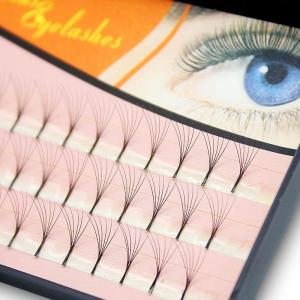 Navina Natural 6D 6Roots Faux Eyelash Extension Professional 3D Effect Grafting Individual Cluster Makeup False Eyelashes Cilia