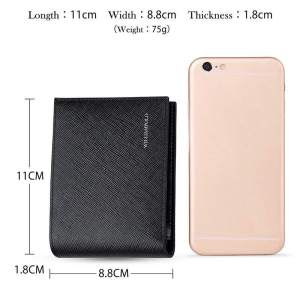Brand Luxury Office Male Wallet Mature Man Bifold Wallet Small Purse PL171335