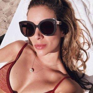 2019 Retro Sunglasses Women Brand Design Cat Sun Eye Glasses Shades for Women Sunglasses Oversized Rivet Decoration Fashion