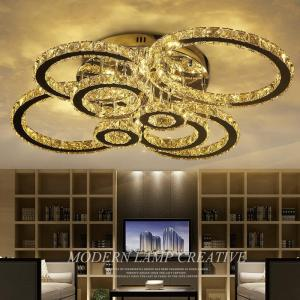 LED Ceiling Lights Modern K9 crystal luminaires illumination home fixtures living room Ceiling lamps bedroom Ceiling lighting