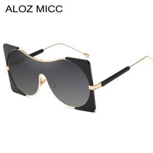 ALOZ MICC Fashion Women Sunglasses For Men Brand Designer Luxury Oversized Sun Glasses Women Retro Goggles UV400 Oculos Q14