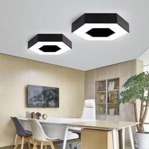 Led ceiling lights hexagonal bedroom livingroom balcony office study meetting room dining room ceiling lamp led lighting indoor