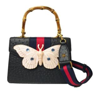 Fashion And Personality Elegant Wide Ribbon Shoulder Strap Big Butterfly Bag For Women 2019 New Arrival Women's Purse, B006