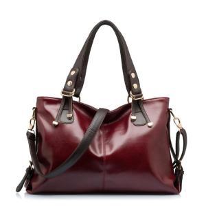 2019 Women Genuine Leather Handbag Patent Famous Brands Designer Handbags High Quality Tote Bag Bolsa Femininas Crossbody X12