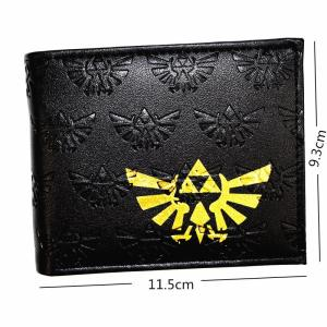 New Arrival Game Zelda Wallet High Quality PU Leather Men's Purse