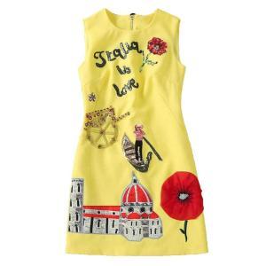 Women Casual Dress 2020 High Quality Runway Summer O-Neck Sleeveless Beading Sequined Back Button A-Line  Mini Dress SAD476N