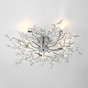 jmmxiuz New fantasy design chandelier crystal ceiling lamps modern lamps Dia78 * H25cm chandelier living room bedroom light