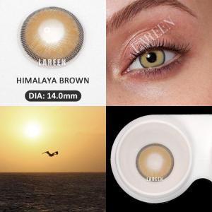 LAREEN 2pcs/pair Christmas Contact Lenses For Eye Himalaya Series Colored Contact Lens Eye Brown Color Lenses Lentes De Contacto