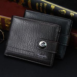 wallet for men made of natural leather portfel meski short Men's Wallets male money clip small carteira masculina couro erkek