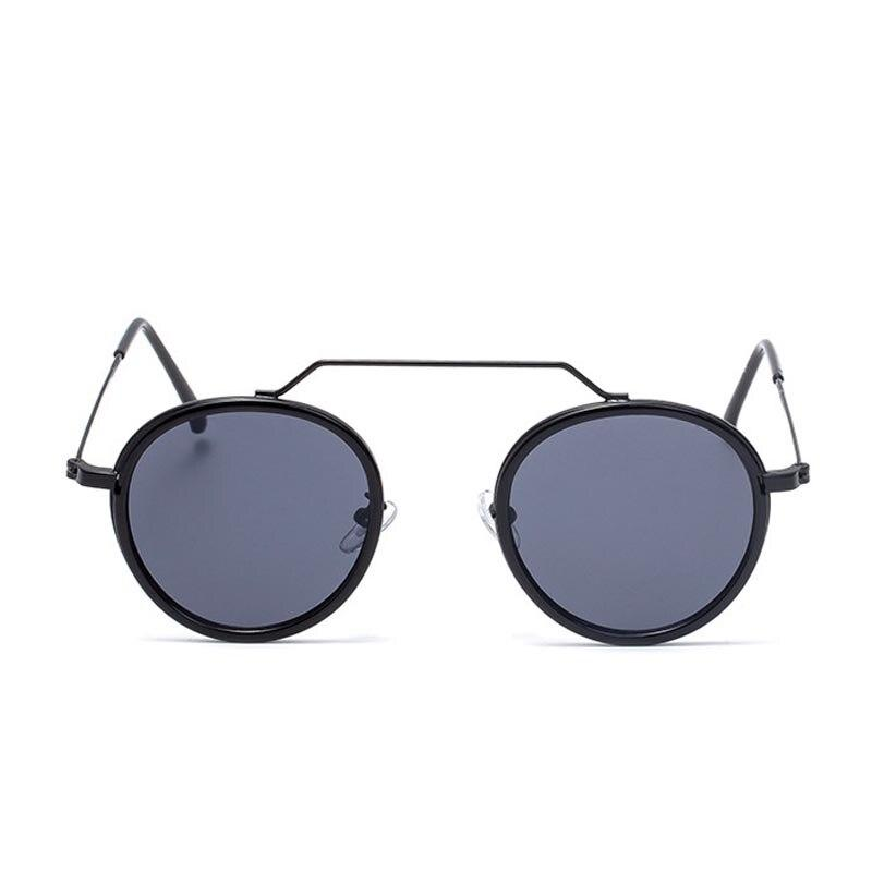 Round Brand Sunglasses Women 2020 New Fashion Black Oversize Shades Men Retro Luxury Sun Glasses Female Gradient UV400 Oculos