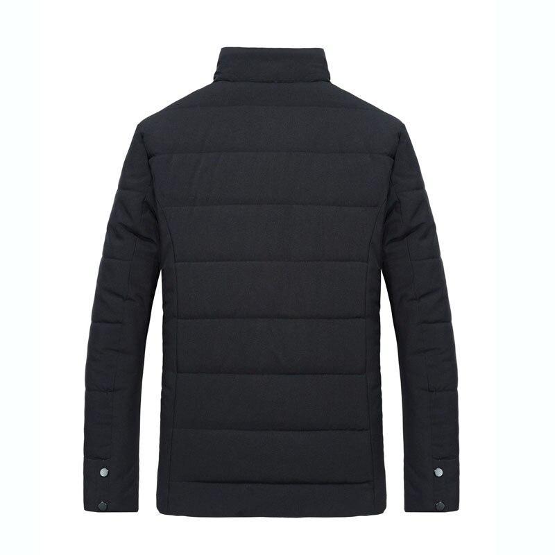 DIMUSI Winter Men Thick Warm Jacket Male Cotton Fluff Lining Parkas Male Casual Fur Collar Outwear Windbreaker Hooded 5XL,TA1208