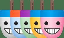 Buoymoji colorways color variations by James Young
