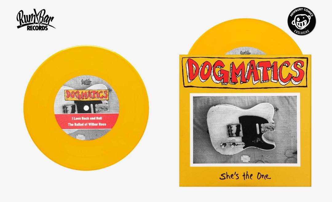 "THE DOGMATICS She's The One Exclusive 7"" in Yellow Vinyl"