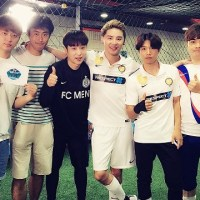 [OTHER INSTAGRAM] 160728 FC MEN Official Instagram Update: Junsu with teammates